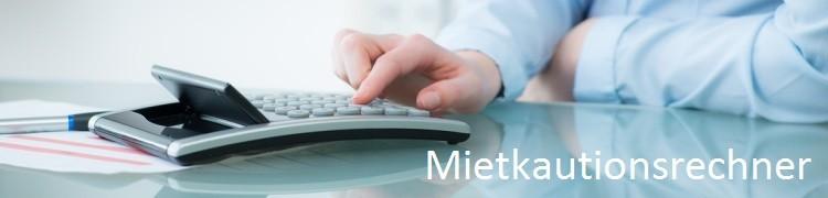 Mietkautionsrechner: Mit diesem Zinsrechner können Sie taggenaue Zinsen und Zinseszinsen für die Mietkaution online berechnen.