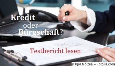 Dieser Mietkaution-Finanztest zeigt die Möglichkeiten einer Finanzierung und hilft beim Vergleich zwischen Dispokredit, Ratenkredit und Kautionsbürgschaft.