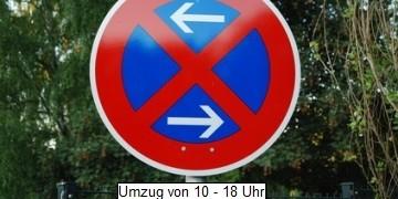 Wer einen Umzug plant, sollte rechtzeitig zum Umzugstag die Einrichtung einer Halteverbotszone für den Umzugswagen beauftragen.