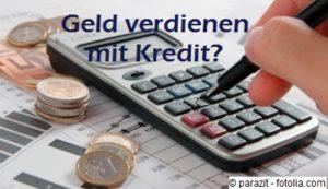 Durch ein Hebelgeschäft bzw. Zinsdifferenzgeschäft kann man mit einem Kredit Geld verdienen.