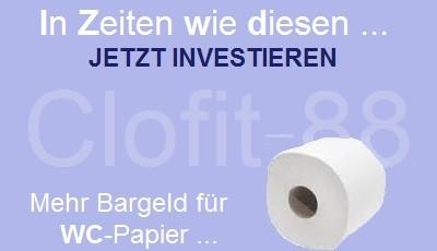Mehr Geld zum Toilettenpapier kaufen